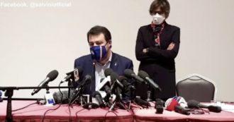 """Salvini: """"Prima si vota meglio è, ma dopo il Covid"""". E apre a un altro governo: """"Una squadra più seria per andare alle urne? Sarei felice"""""""