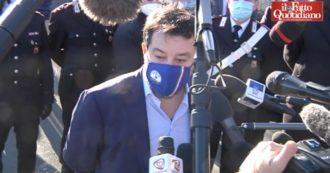 """Gregoretti, Salvini a Catania per il processo: """"Oggi farò dichiarazioni spontanee. Curioso di sentire cosa diranno Trenta e Toninelli"""""""