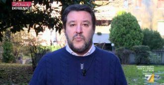 """Governo, Salvini a La7: """"Accordo con Renzi? Passasse dalle parole ai fatti. Ma i governi di Cetto La Qualunque non mi interessano"""""""