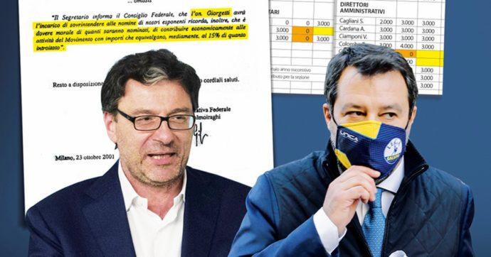 """In Edicola sul Fatto Quotidiano del 13 Dicembre: """"La Lega ti nomina e tu le ridai il 15%"""". Esclusivo"""