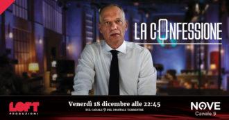 """La Confessione (Nove), Peter Gomez: """"Perché intervisto Vittorio Feltri? Penna migliore del centrodestra, abbiamo parlato di deontologia"""""""