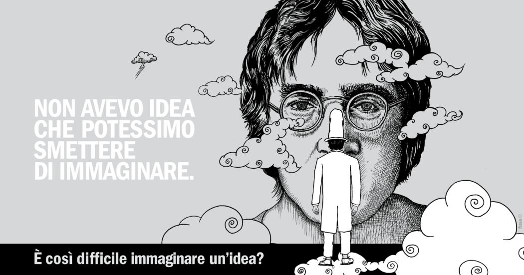 L'Uomo Che Non Ha Idea incontra John Lennon, Lucio Corsi e tutti coloro che non hanno mai smesso di immaginare