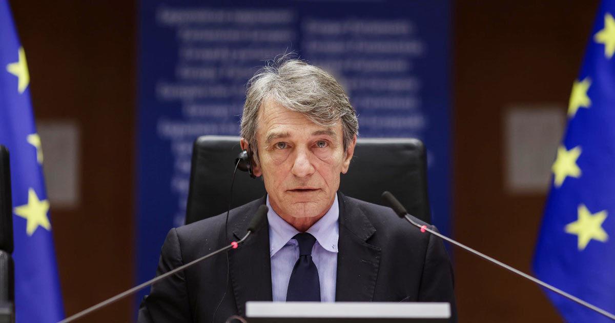 """Sassoli smentisce Pd e Iv: """"In tutti i paesi Ue task force Recovery"""""""