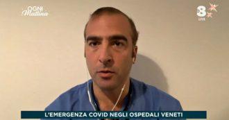 """""""In Veneto situazione drammatica. Pronto soccorso invasi da malati Covid, non resisteremo a lungo"""". La denuncia del medico padovano"""