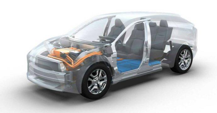 Subaru, in cantiere un suv 100% elettrico da realizzare insieme a Toyota