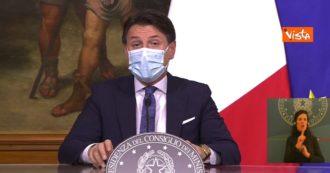 """Coronavirus, Conte: """"Virus continua a circolare dappertutto in Europa. Tra esperti c'è preoccupazione per impennata a Natale"""""""