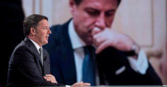 """Crisi di governo, Renzi: """"Conte vuole contarsi in Parlamento? Accettiamo la sfida"""". Senza Iv al Senato mancano 8 voti per la maggioranza"""