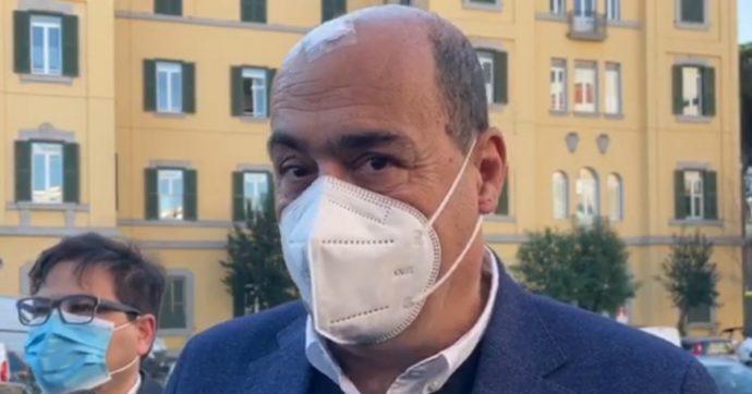 """Recovery, Zingaretti prende le distanze da Italia viva: """"Non è tutto da rifare. Lavoriamo in modo responsabile, il resto sono pettegolezzi"""""""