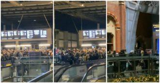 Migliaia di persone fuggono da Londra prima che scatti il lockdown: le code alle stazioni – Video