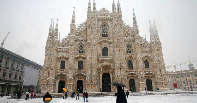 Arriva la neve al Nord dopo Natale: a Milano e Torino previsti oltre 10 cm di manto bianco