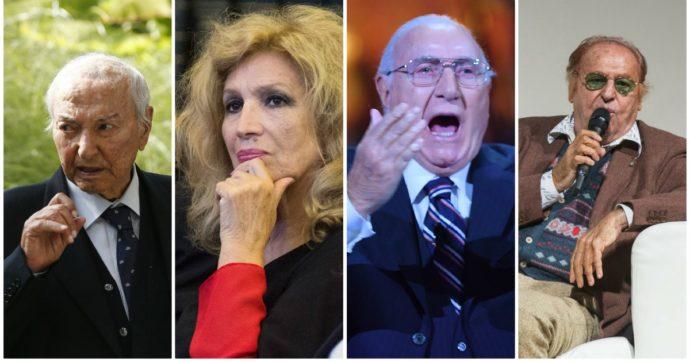 """Vaccino Covid, l'annuncio di Pippo Baudo, Iva Zanicchi, Renzo Arbore e Piero Angela: """"Pronti a farci vaccinare, anche in diretta tv"""""""