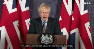 """Brexit, l'annuncio di Boris Johnson: """"Accordo raggiunto. Il più grande mai fatto finora"""""""
