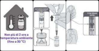Vaccino Covid, le istruzioni per l'uso dell'Aifa: dallo scongelamento alle singole dosi
