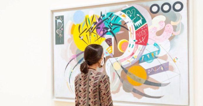 Mostre, Kandinsky nomade e rivoluzionario: il tour online nella mostra del Guggenheim di Bilbao