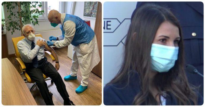 """V-day, il primo giorno di vaccinazioni da Milano a Roma. Scoppia il caso De Luca. Conte: """"Data che resterà impressa"""""""