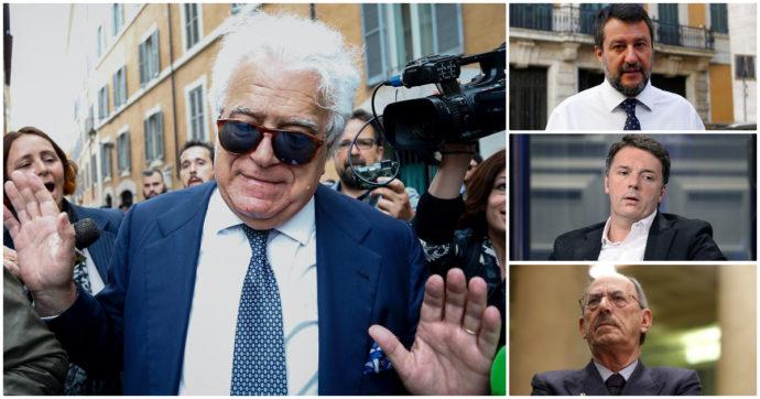Italia Viva vuole la crisi? Rispunta Verdini (da Rebibbia). Renzi, Salvini e mezza Forza Italia in visita in carcere