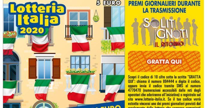 Lotteria Italia, crollo storico nelle vendite dei biglietti: -30%. In palio ci sono 5 milioni di euro