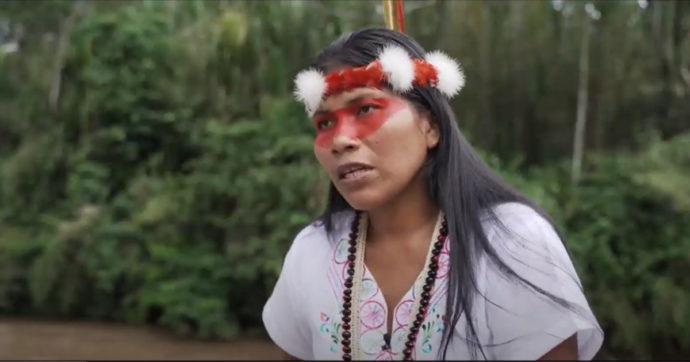 Nemonte Nenquimo combatte lo sfruttamento dell'Amazzonia: una lotta forte come lei