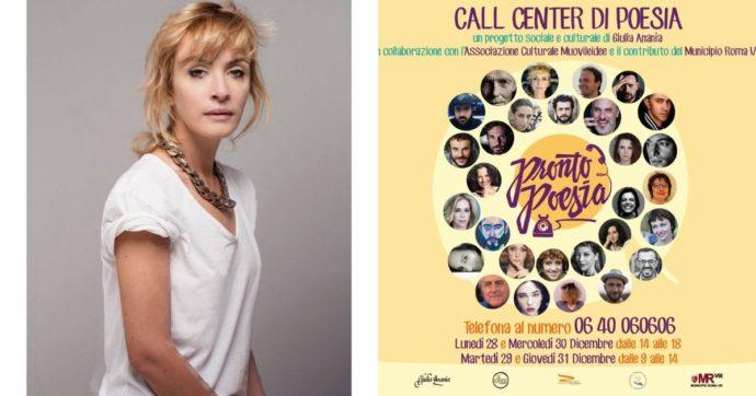 """""""Pronto? Poesia!"""", arriva il primo call center poetico: """"Un'iniziativa per stare vicino alle persone più fragili"""". Ecco come funziona"""