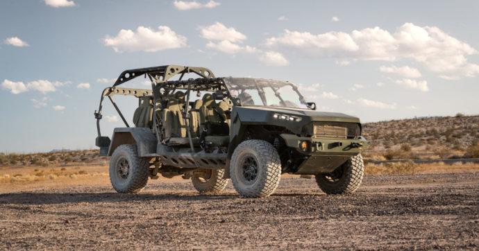 Infantry Squad Vehicle, un mezzo col motore progettato a Torino per l'Esercito Usa