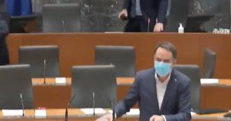 Il terremoto della Croazia è stato sconvolto anche nel parlamento sloveno: i parlamentari fuggono dalla sala durante il dibattito. video