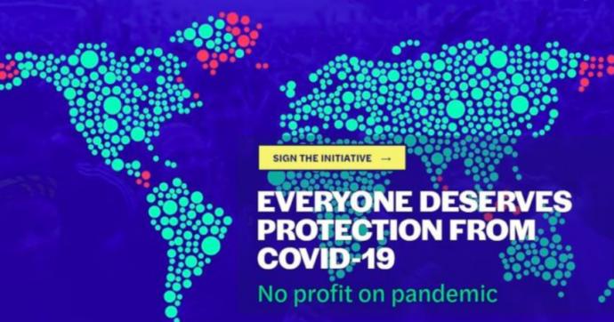 """Covid, """"niente brevetti, trasparenza e licenze obbligatorie"""". Migliaia di europei per un """"vaccino universale"""" che non lasci indietro Paesi poveri"""