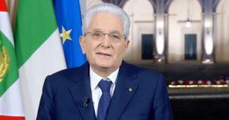 Sergio Mattarella, il discorso di fine anno del presidente della Repubblica: rivedi l'intervento integrale