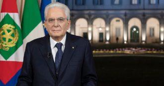 """Mattarella: """"Sarà il mio ultimo anno da presidente. Obiettivo ripartenza non sono ammesse distrazioni, ritardi, sprechi di energie"""""""