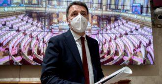 """Crisi di governo, Renzi alla maggioranza: """"Accordo sui contenuti, poi vedremo se il premier sarà Conte o un altro"""""""