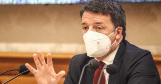 """L'ultima bugia di Renzi: """"Se avessimo preso il Mes sei mesi fa, oggi avremmo più vaccinati"""""""