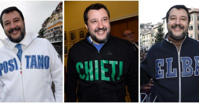 Salvini e la fissione nucleare del comunicato stampa: prendi un pensiero e declinalo tal quale per tutte le regioni. È il modello felpa