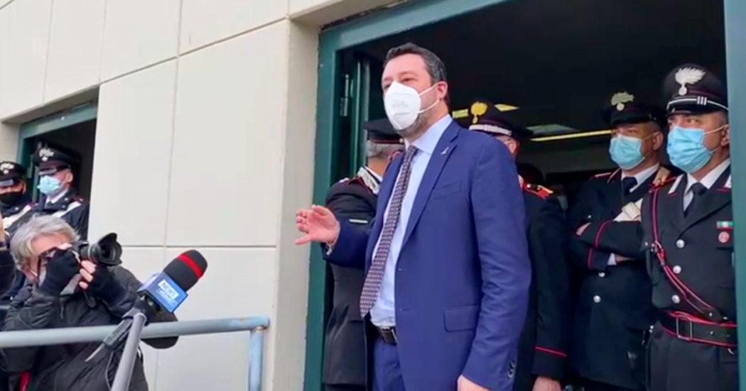 """Open Arms, Salvini: """"Non ho agito da solo, lo ha detto anche Conte"""""""
