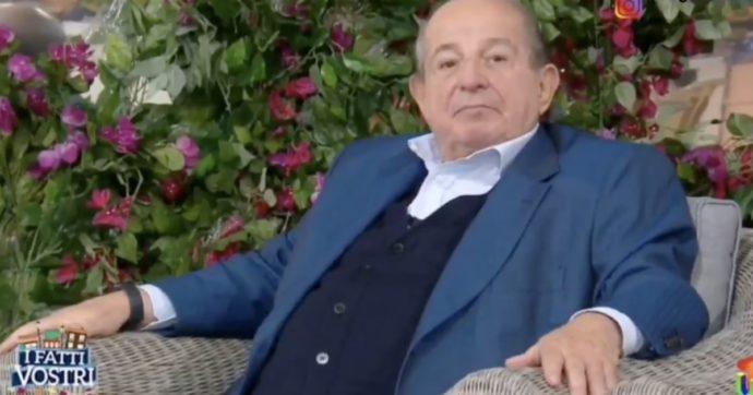 """Giancarlo Magalli a FqMagazine: """"Lascio I Fatti Vostri, è una mia scelta. Avevo chiesto a Guardì di fare la staffetta. Anna Falchi? Non dovete chiedere a me"""""""