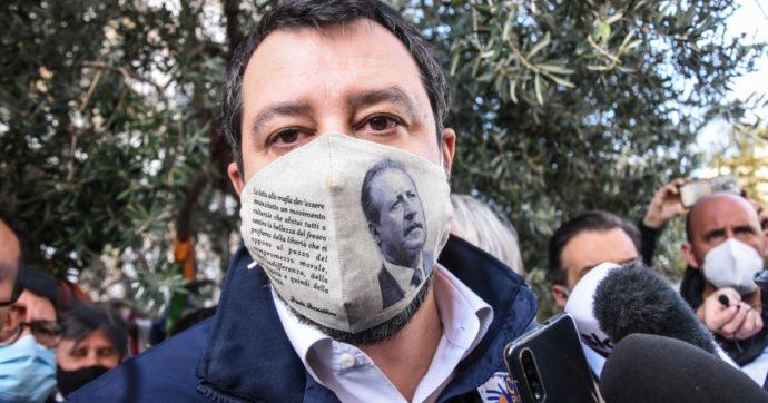 Salvini, perché indossare quella mascherina con il volto di Borsellino è un gesto di sciacallaggio