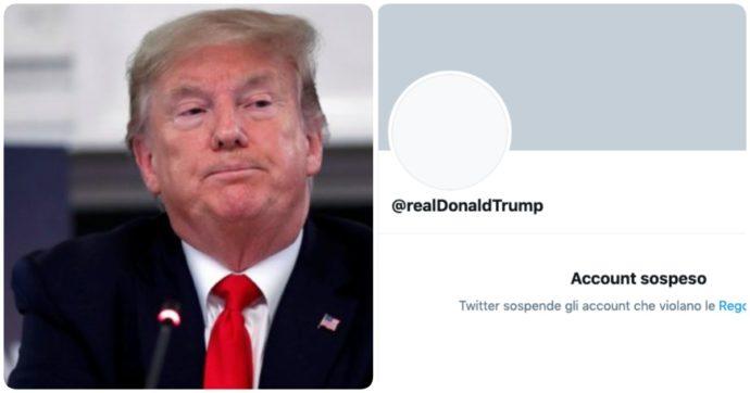 Donald Trump zittito su Twitter: abbiamo un problema