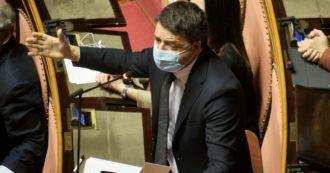 """Governo, la nuova offensiva di Renzi: """"Conte sprezzante, se vuole la conta in Parlamento fa un errore politico e numerico"""""""