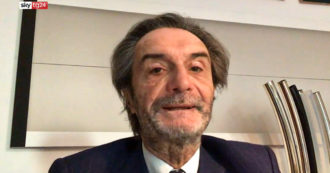 """Fontana: """"In Lombarda ci avviciniamo alla zona rossa, indice di contagio ha avuto un improvviso innalzamento"""" – Video"""
