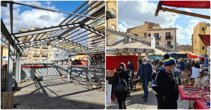 Palermo, lo storico mercato di Ballarò si trasforma: le bancarelle saranno al coperto
