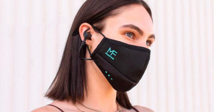 MaskFone, telefonare e ascoltare musica in sicurezza ai tempi del COVID-19