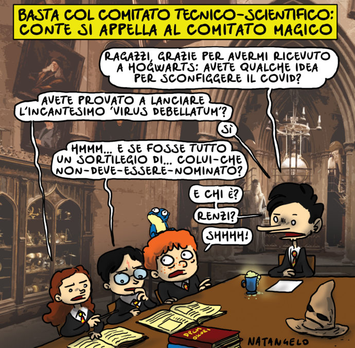 Harry Potter e la camera dei DPCM