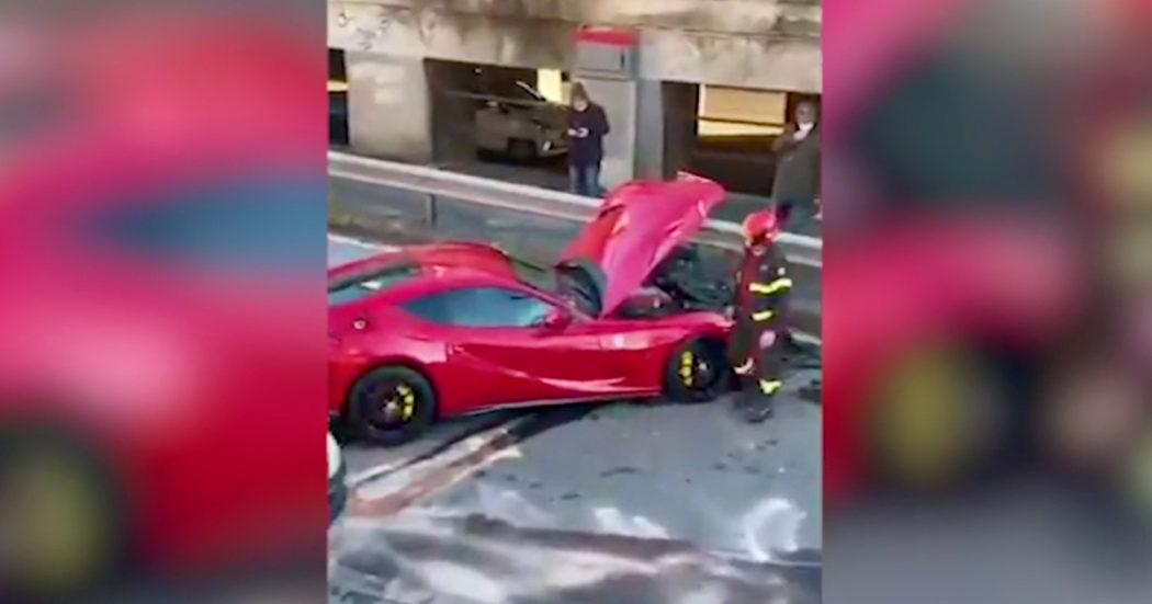 Gli distruggono la Ferrari all'autolavaggio, ma la reazione del portiere del Genoa Marchetti stupisce tutti – Video