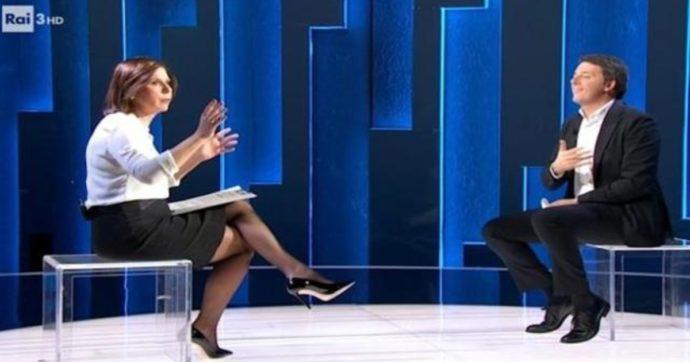 """Cartabianca, Bianca Berlinguer si infuria per i rumori in studio mentre  parla Renzi. E Galli per il ritardo: """"Sono molto scocciato"""" - Il Fatto  Quotidiano"""