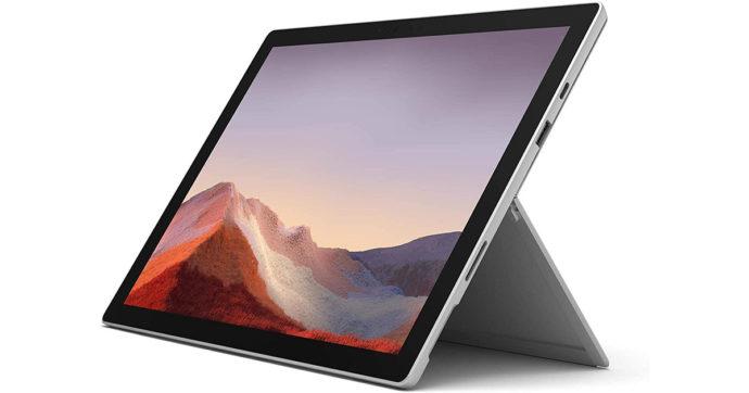 Microsoft Surface Pro 7, tablet professionale da 12 pollici con 300 euro di sconto su Amazon