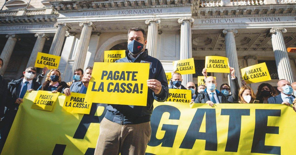I furbetti della cassa integrazione Covid-19. Tra i beneficiari: partiti, preti e rabdomanti Pure la Lega per Salvini (che protestava)