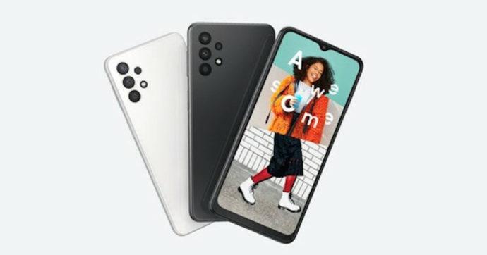 Samsung Galaxy A32, ufficiale il nuovo smartphone economico con 5G e grande autonomia