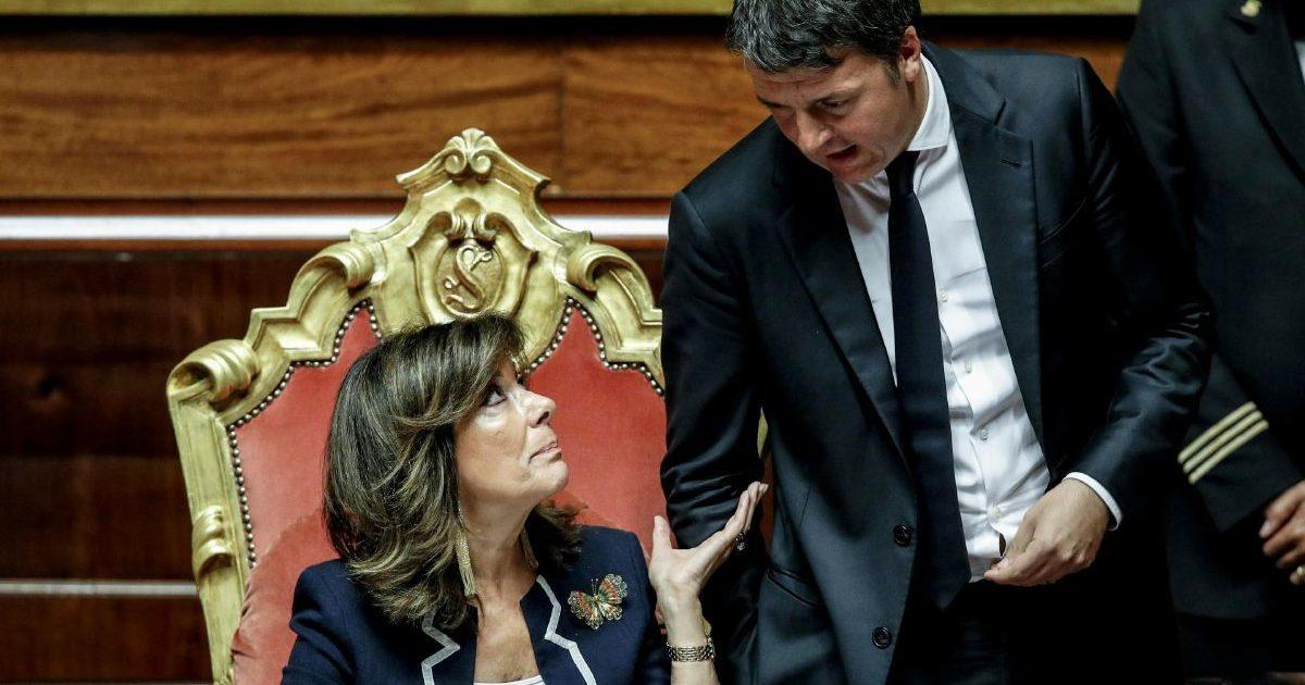 """Senato, Renzi scrive a Casellati: """"Nell'indagine su Open c'è il rischio d'intercettazioni illegittime"""""""