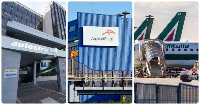 Autostrade, Alitalia, ex Ilva, Fincantieri-Stx, Mps, rete unica: tutti i dossier industriali sul tavolo del governo ora in bilico causa crisi