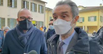 """Lombardia in zona rossa, Fontana: """"Una punizione che non ci meritiamo. Miglioriamo, ho chiesto a Speranza di rivedere i numeri"""""""