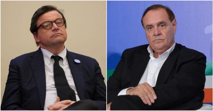 """Mastella in tv: """"Calenda è un burinotto"""". Il leader di Azione telefona in diretta e il sindaco se ne va: """"Venditore da elenco telefonico"""""""