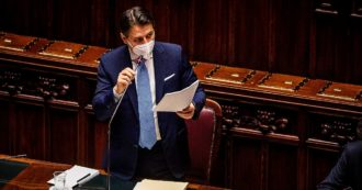 """Camera, l'appello di Conte: """"Chi ha a cuore il Paese ci aiuti"""". A Italia Viva: """"Non si cancella ciò che è accaduto"""". E rinuncia a delega ai Servizi"""